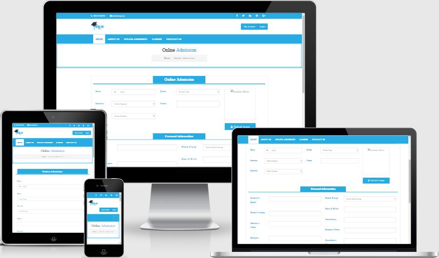 Online Admission Application System